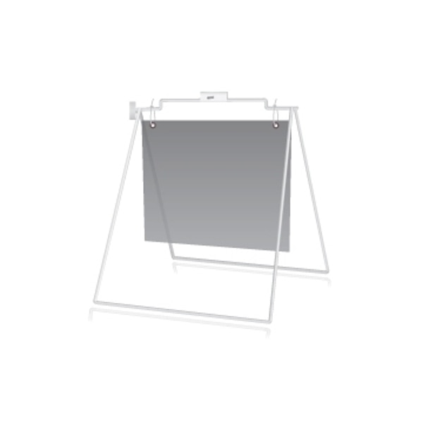 Picture of 18''h x 24''w Sidewalk A-Frame (White)