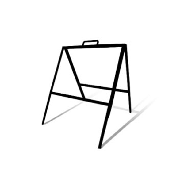 """Picture of 18"""" x 24"""" Slide-In Tent Frame (Black)"""