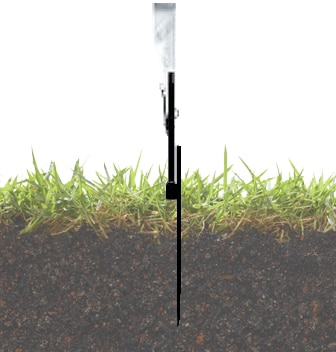 Picture of 15' Feather Flag Outdoor Base + Hardware
