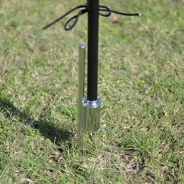 Picture of 10' Feather Flag Outdoor Base + Hardware