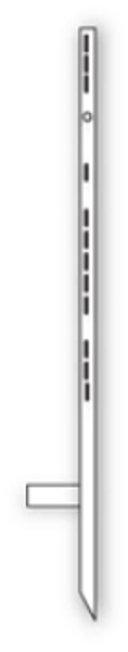 """Picture of 48"""" Stepper Stake (White)"""